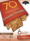 Fiber Gourmet Thinables Crackers - Cinnamon Sugar