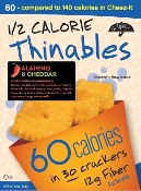 Fiber Gourmet Thinables Crackers - Jalapeno Cheddar