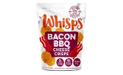 Cello Whisps Bacon BBQ Cheese Crisps Keto Crackers