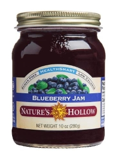 Nature's Hollow Sugar Free Blueberry Preserves with Xylitol