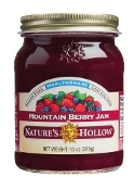 Nature's Hollow Sugar Free Mountain Berry Preserves with Xylitol
