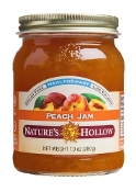 Nature's Hollow Sugar Free Peach Preserves with Xylitol