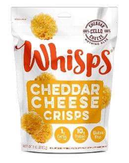 Cello Whisps Cheddar Cheese Crisps Crackers