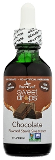 SweetLeaf Liquid Stevia Sweet Drops Sweetener - Chocolate