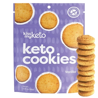 Kiss My Keto Low Carb Butter Cookies