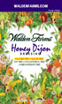Walden Farms Honey Dijon Salad Dressing Packets - 6 Ct