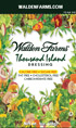 Walden Farms Thousand Island Dressing Packets - 6 ct Box
