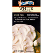 Sweet N Low White Whipped Frosting Mix